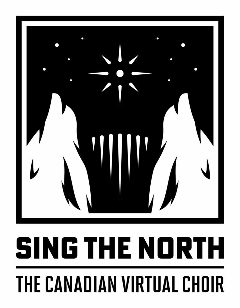 sing the north logo primary
